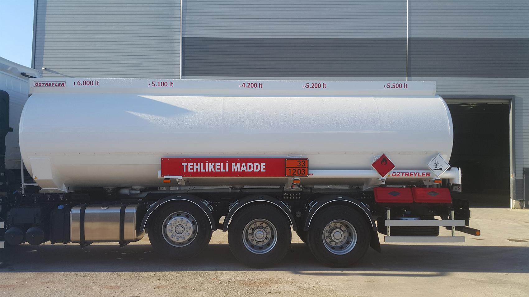 Alüminyum / Çelik Elips Tip Tanker
