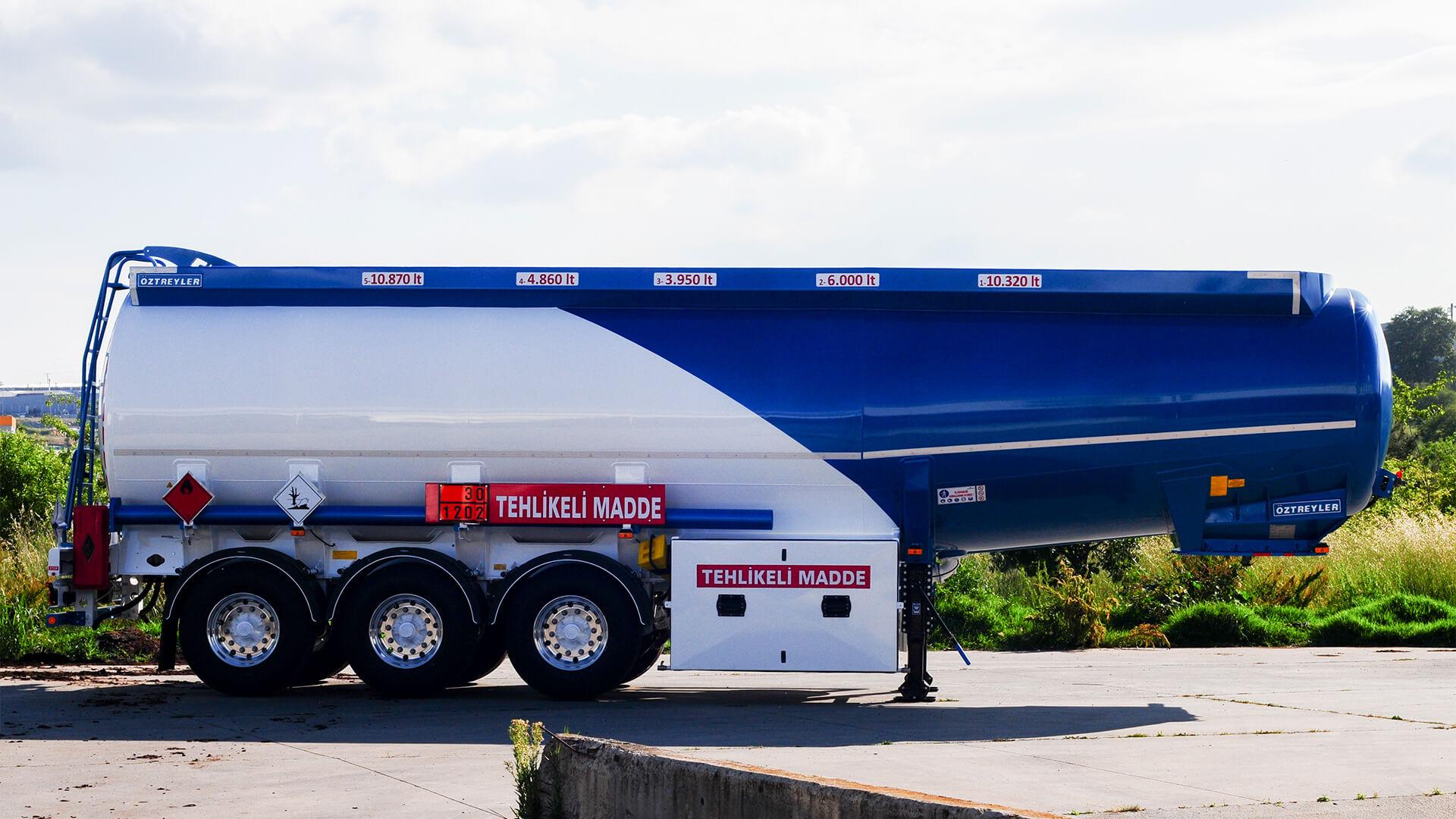 Steel Full Chassis Tanker Semi-Trailer