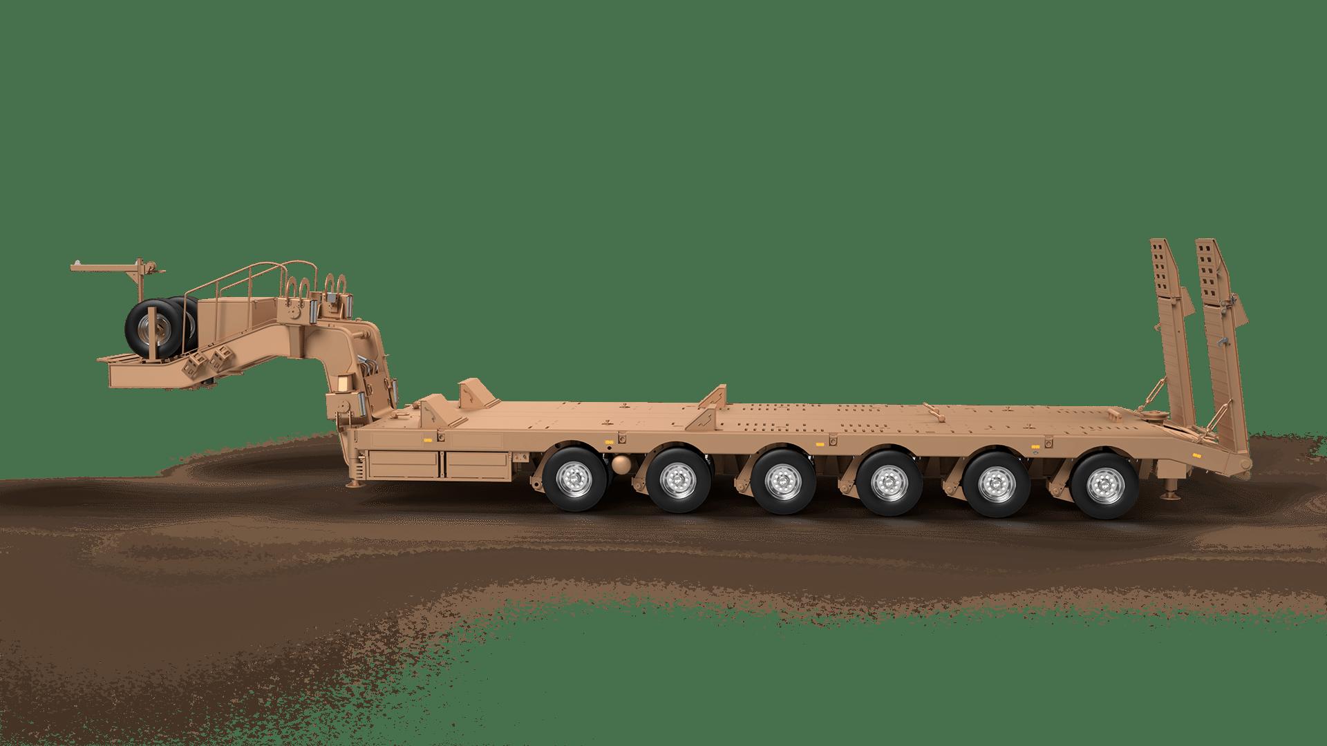 Tank Taşıyıcı Lowbed