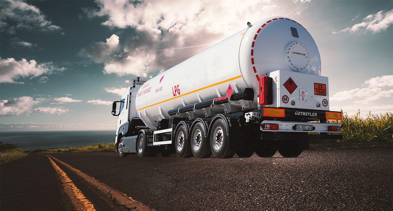 LPG Tanker Truck Body
